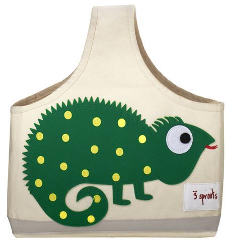 Сумка 3 Sprouts Игуана (Green Iguana) 00009