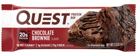 Quest Nutrition Quest Protein Bar Chocolate Brownie (Шоколадный брауни), 12 шт