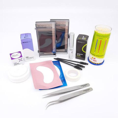 Стартовый набор для наращивания ресниц Novasecret Standart Basic