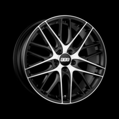 Диск колесный BBS CS 8x18 5x112 ET40 CB82.0 black/diamond cut
