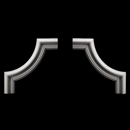Угловой элемент Европласт из полиуретана 1.52.301, интернет магазин Волео