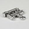 """Подвеска """"Швейная машинка"""" (цвет - античное серебро) 15х15 мм"""