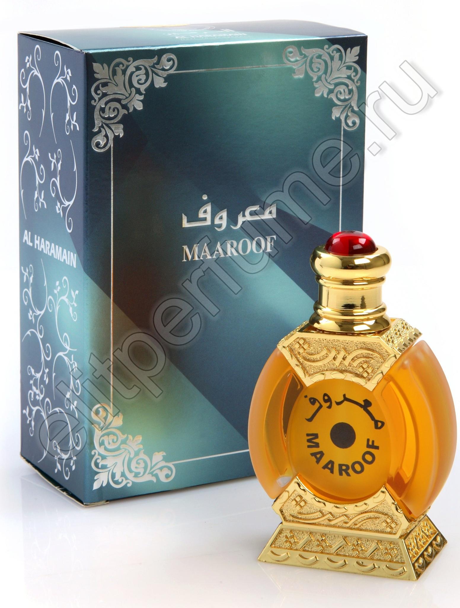 Мааруф Maaroof 25 мл арабские масляные духи от Аль Харамайн Al Haramain Perfumes