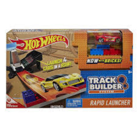 Hot Wheels Track Builder Rapid Launcher Playset