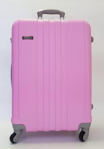 Чемодан Ananda 533 Розовый L. Пластиковый чемодан на четырех колесах ... cc9d1516890