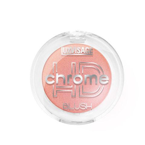 LuxVisage HD Chrome Румяна для лица тон 105 (Нежный розовый)