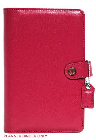 Планнер PERSONAL PLANNER: Dark Pink by Websters Pages (БЕЗ внутреннего наполнения)