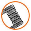 Спираль GeekVape Staggered Fused Clapton KA1/NI80 0.45ом 2шт