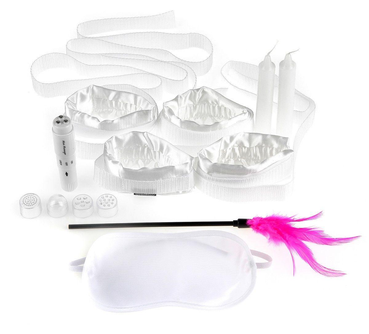 Эротические наборы: Набор для эротических игр Honeymoon Bondage Kit