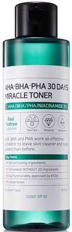 SOME BY MI Aha-Bha-Pha 30 Days Miracle Toner тонер для лица 150 мл