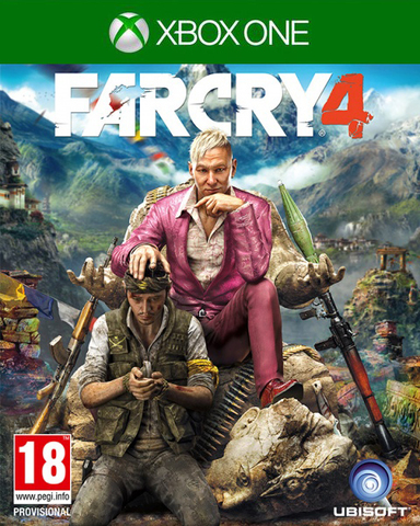 Xbox One Far Cry 4 (русская версия)