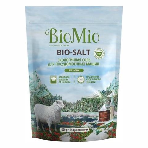 Соль для посудомоечных машин SPLAT BioMio 1кг