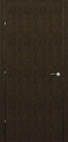 Дверь Краснодеревщик ДГ 7300, цвет дуб мореный, глухая
