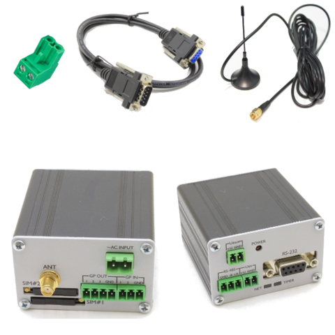 GSM/GPRS модем Bitcord GL868 RS232/RS485 AC KIT