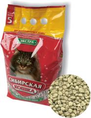 Наполнитель для длинношерстных кошек, Сибирская Кошка, Экстра 5л