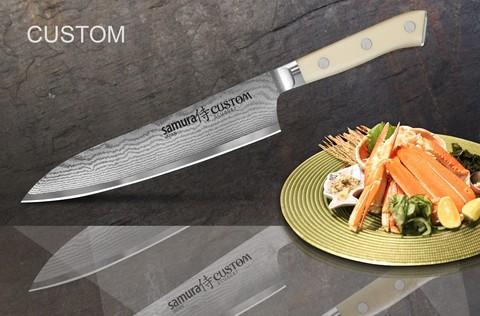 Нож кухонный Samura Eco Шеф 175 мм, белый
