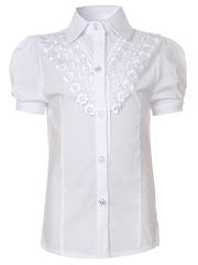 0335 блузка детская, белая