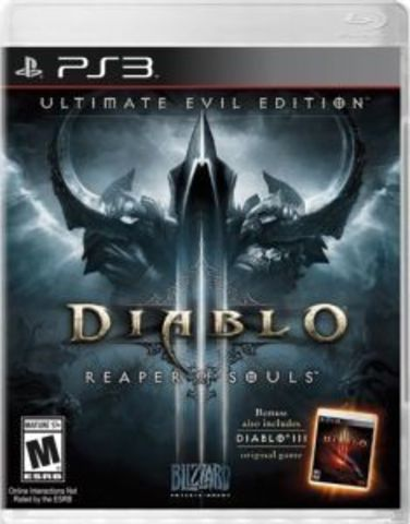 Sony PS3 Diablo III: Reaper of Souls. Ultimate Evil Edition (английская версия)