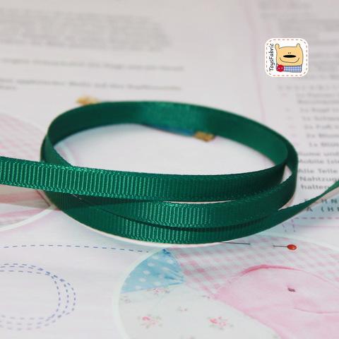 Лента репсовая 6мм (зеленый) ЛР6-32