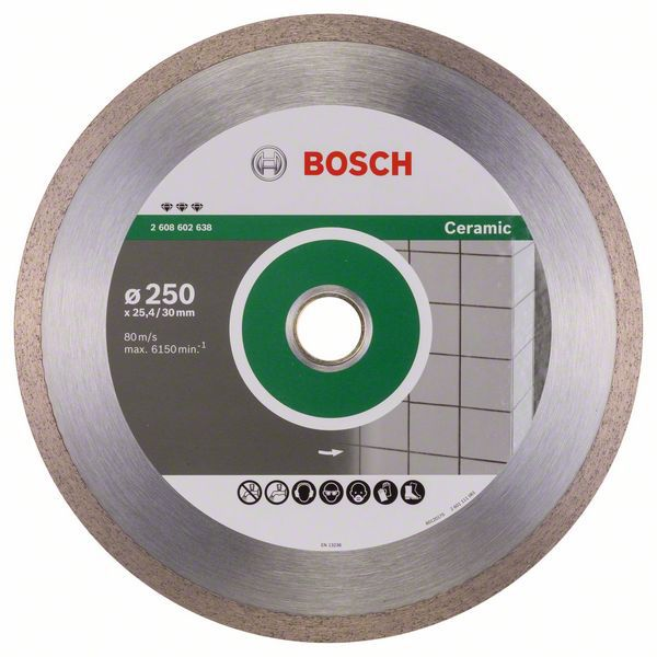 Алмазный диск Best for Ceramic 250-30/25,4 Bosch 2608602638