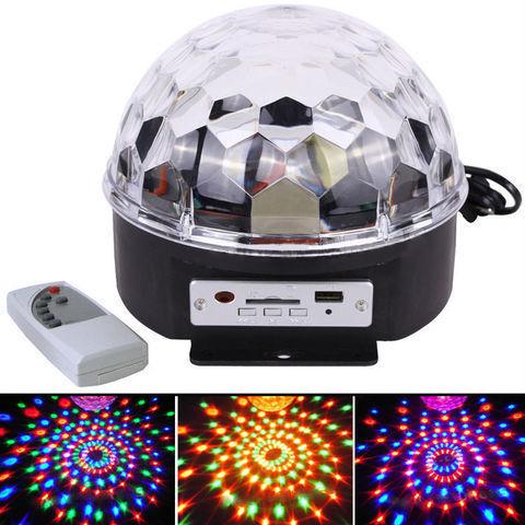 Диско шар Magic Ball Light MP3 с флешкой и Bluetooth  (цветомузыка)