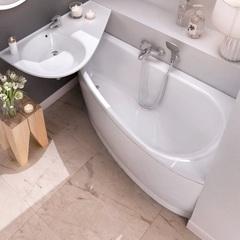 Ванна асимметричная 150х75 см правая Ravak Avocado P CS01000000 фото