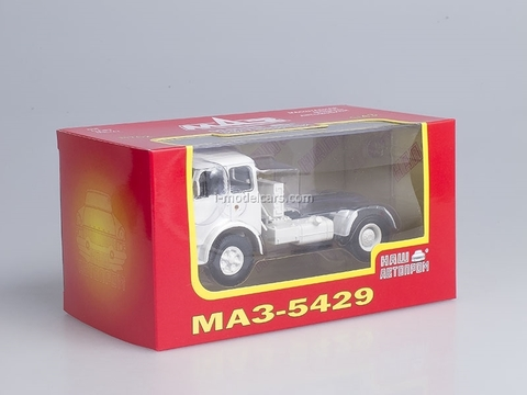 MAZ-5429 white 1:43 Nash Avtoprom