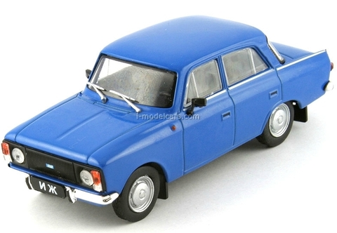 IZH-412-028 blue 1:43 DeAgostini Auto Legends USSR #85