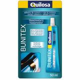 Прозрачный контактный клей Quilosa Bunitex Transparent 50мл (24шт/кор)