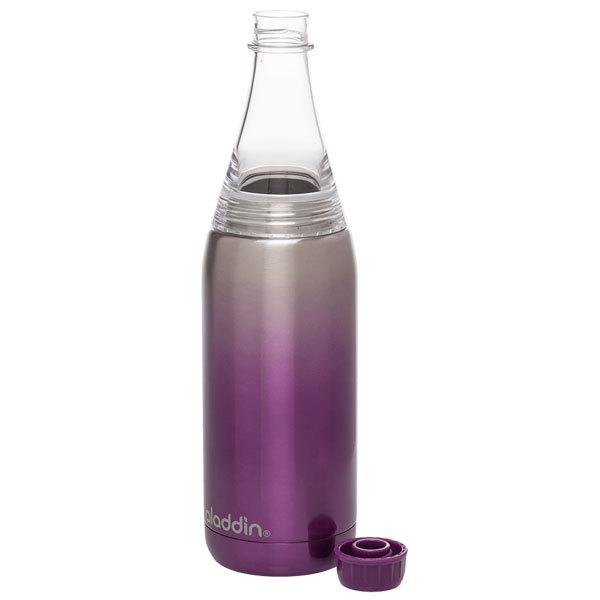 Термобутылка Aladdin Fresco (0,6 литра), фиолетовая