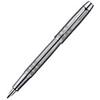 Parker IM Premium - Shiny Chrome Chiselled CT, перьевая ручка, F