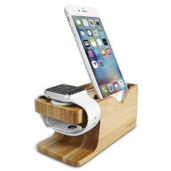 Подставка Spigen Apple Watch+iPhone Stand S370