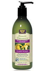 Лосьон для рук и тела с маслом иланг-иланг, Avalon Organics