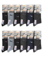 F506-27 носки мужские 40-47 (12 шт.) цветные
