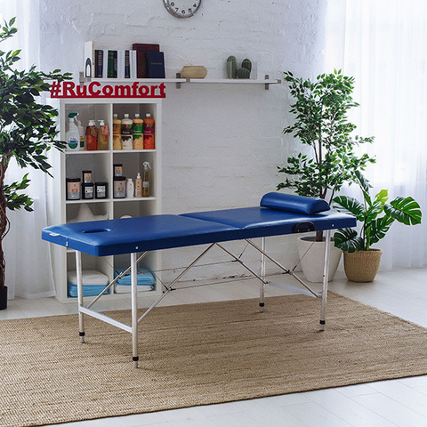 Массажный стол (190х70x75-95) COMFORT 190Р