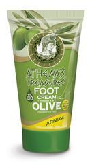 крем для ног Арника из серии греческой косметики ATHENA'S TREASURES