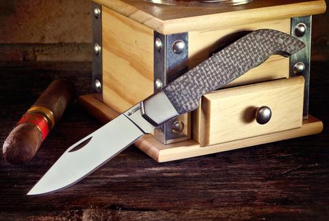 Складной нож Karbuk AUS-8 Polished