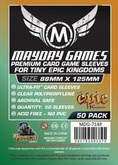 Протекторы для настольных игр Mayday Premium Tiny Epic Kingdoms (88x125) - 50 штук