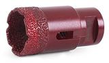 Алмазная коронка MESSER по камню с хвостовиком M14 (вакуумное спекание алмазов) 12 мм
