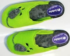 Домашние тапочки для женщин Inblu NC- 1B Mouse Light Green