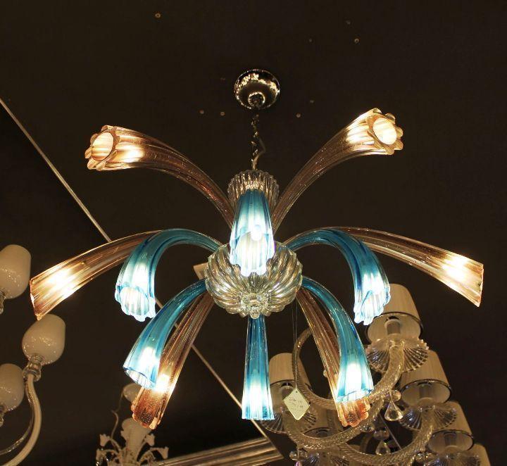 Murano Glass Chandelier Buy Online: Chandelier ARTE DI MURANO 11-42 By Arlecchino Arts (HK