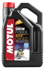 Моторное масло MOTUL Snowpower 4T 0W40