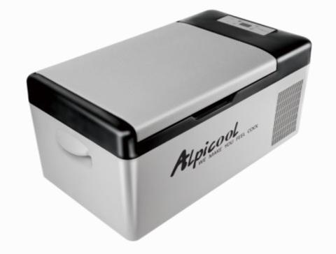Компрессорный автохолодильник ALPICOOL C15 (15 л.) 12-24-220В