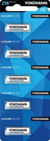 Батарейки Yokohama 27A, 12V (5/50) BL