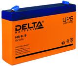 Аккумулятор Delta HR 6-9 ( 6V 9Ah / 6В 9Ач ) - фотография