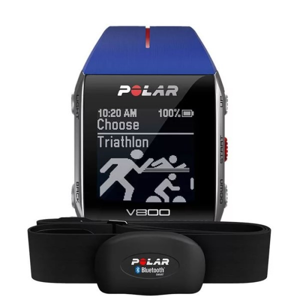 Спортивные смарт-часы Polar V800 Blue HR