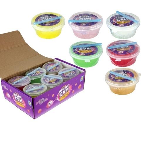 1toy Мелкие пакости Мяшка Bubble gum (надувается) 1кор*40бл*12шт, 50гр