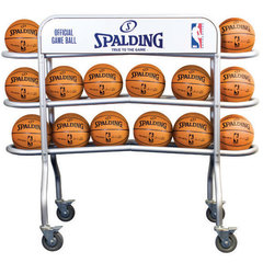 Тележка для баскетбольных мячей Spalding