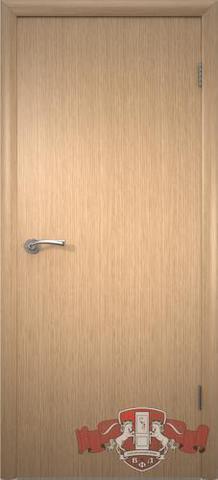 Дверь Владимирская фабрика дверей Соло 1ДГ1, цвет светлый дуб, глухая