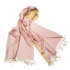 Шарф 50х180 AM Paris Parati13 золотисто-розовый